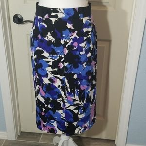 Worthington, Floral print, pencil skirt
